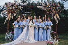 A cor certa para as madrinhas de casamento em 2018 - Universo das Noivas