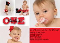 Photo Custom Digital Birthday Party Invitation by SavCreations, $16.00