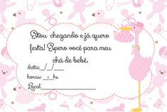 Convite Chá de Bebê - Graça Layouts Design ,personalização e criação arte digital