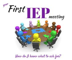 {Ask an Advocate}  first IEP meeting-what strategies and accommodations should I ask for?