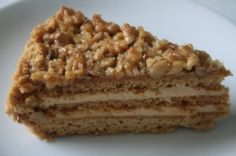 cake walnut walnut cake banana walnut cake honey cake is made with ...