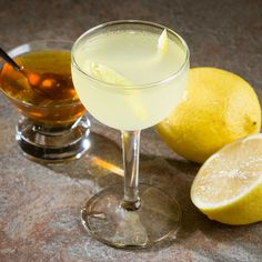 The Bee's Knees: Prohibition-era honey based cocktail.  Perfect for Summer!
