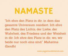 die Bedeutung des Segensgrußes Namaste Mehr