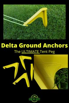 See why we think these are the Ultimate tent pegs! Keep your tent anchored in adverse weather conditions with these fabulous tent pegs.