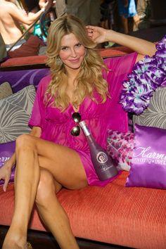 Brandi Glanville parties at TAO Beach in Las Vegas celebrities
