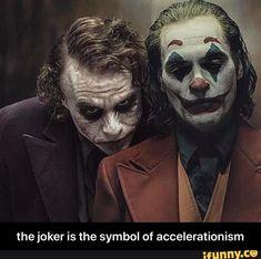 The joker is the symbol of accelerationism - the joker is the symbol of accelerationism - iFunny :) Joker Batman, Joker Heath, Joker Und Harley, Der Joker, Joker Poster, Joker Images, Joker Pics, Joker Iphone Wallpaper, Joker Wallpapers