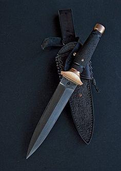 Черный в бронзе - 2knife.com