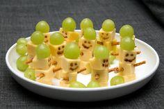 Sinja78s Blog bei Chefkoch.de - Käsesticks-Schneemänner (Fingerfood)