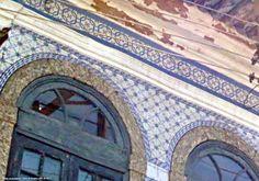 Azulejos antigos no Rio de Janeiro: Santo Cristo IX - rua Farnese