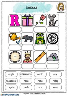 Alphabet Activities, Preschool Activities, Handwriting Worksheets, Name Writing, Phonemic Awareness, Bullet Journal Ideas Pages, Learning Spanish, Learn To Read, Kids Education