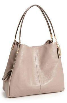 COACH 'Madison - Small Phoebe' Leather Shoulder Bag