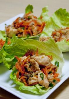 You have to try these delicious Skinny Mom, Skinny Asian Chicken Wraps! Re-pin so you can have healthy food and lose weight dramatically fast!