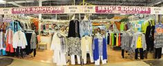 Beth's Boutique, specializing in Women's clothing and accessories. Find her at 2211 Parade in the Festival Flea Market Mall.