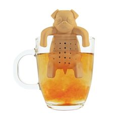 Whether you are a tea drinker or dog lover, this Pug in a Mug is put a smile on…