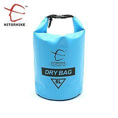 HITORHIKE 5L DRIFTING BAG WATERPROOF DRY BAG BACKPACK CANOE KAYAK RAFTING FLOATING STORAGE BAGS FOLDING BOATING TRAVEL KITS