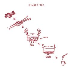 Picture Cook recipe for ginger tea #recipe
