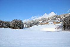 #Blick vom #Tal auf die #Sonnenterrasse #Glocknerhof #bergimdrautal #Kärnten #Austria
