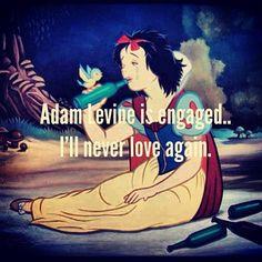 adam levine engaged .......mahhhhh