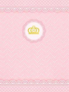 Montando minha festa: Kit digital gratuito para imprimir Princess - Coroa de Princesa Rosa!