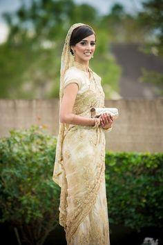 white indian wedding saree - Google Search