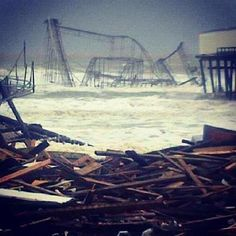 HURRICANE SANDY: Seaside, NJ Amusement Park. Submitted by Kimberly Morris Phillips