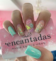 Pin on Nailssss Pin on Nailssss Gold Glitter Nails, Pink Nails, My Nails, Disney Acrylic Nails, Best Acrylic Nails, Dope Nails, Swag Nails, Manicure E Pedicure, Nails Inspiration