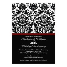 40th Anniversary Damask Invitation Merlot Red We provide you all shopping site and all informations in our go to store link. You will see low prices onShopping          40th Anniversary Damask Invitation Merlot Red today easy to Shops & Purchase Online - transferred directly secure a...
