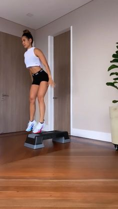 Step Workout, Gym Workout Videos, Gym Workout For Beginners, Fitness Workout For Women, Easy Workouts, At Home Workouts, Physical Fitness, Weight Loss, 7 Hours