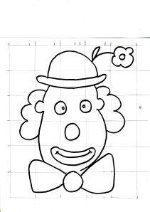 Coloriage clown imprimer colorier enfants carnaval coloriage clown coloriage et - Tete de clown a imprimer ...
