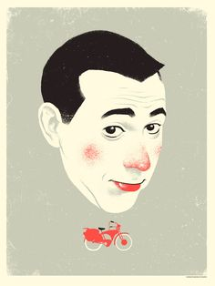 i know you art, but what am i? pee-wee herman tribute art show