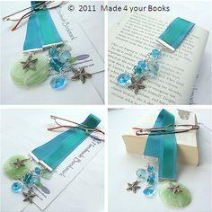 boekenlegger van lint en kralen