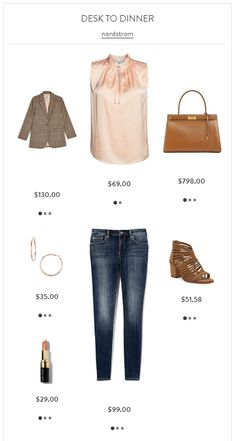 Desk to Dinner- From Topshop, CeCe, Vince Camuto and Tory Burch.