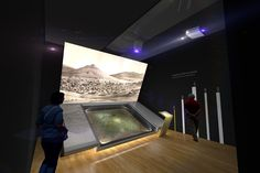 """Interactive exhibit for the """"MUSEUM OF THE CITY OF ATHENS VOUROS–EUTAXIAS FOUNDATION"""" by archiplus architects 
