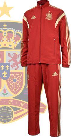 スペイン代表2014 プレゼンテーションスーツ