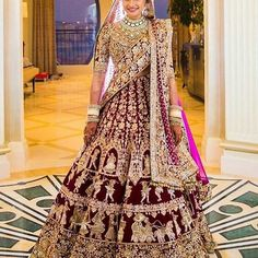 #Tbt to this absolutely stunning, elegant bride.  Guess the designer.  #LehengaLookBook  #Brideshoot #BridePose #WeddingShoot