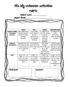 The BFG Worksheets | EXTENSION ACTIVITIES FOR THE BFG BY ROALD DAHL - TeachersPayTeachers ...