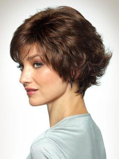 Take a look at this synthetic wig style by Revlon Wigs! Bobby by Revlon Wigs is a short wig style with light curls that are soft and feminine. 100 Human Hair, Human Hair Wigs, Natural Hair Growth, Natural Hair Styles, White Girl Afro, Light Curls, Hair Lotion, Jon Renau, Grey Wig