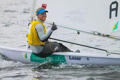 Sail-World.com : Santander Worlds 2014 Laser Mens - Can Burton keep his streak going?