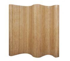 Kamerscherm natuurlijk bamboehout