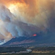 Notice the football field at the Air Force Academy in the center front of the photo. Air Force Academy threatened by the Waldo Canyon Fire in Colorado Springs. Colorado Springs, Canyon Colorado, Denver Colorado, Wildland Fire, Air Force Academy, Wild Fire, Strange Photos, Natural Disasters, Rocky Mountains