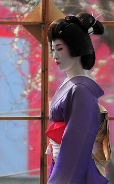 Geiko Umeha at Baikasai