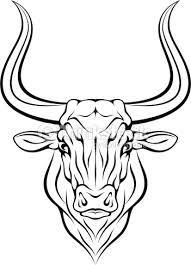 """Résultat de recherche d'images pour """"dessin de taureau"""""""
