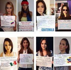 GUARIMBA VZLA !!! @bb_kary  23 min Las Misses de Miss International  se unen al apoyo para Venezuela pic.twitter.com/jqd1DKUZ4z #26FMegaTranca