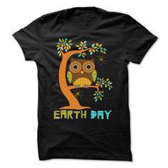 Earth Day Owl T Shirts, Hoodie. Shopping Online Now ==►…