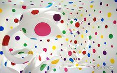 """[비공개컷] 치유로 승화된 예술, 쿠사마 야요이 展 – A Dream I Dreamed """"공황장애를 이겨내고 만든 설치 작품들"""""""