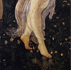 "Sandro Botticelli--detail from ""Primavera"" Renaissance Paintings, Renaissance Art, Italian Renaissance, Old Paintings, Classical Art, Pretty Art, Aesthetic Art, Dark Art, Art Inspo"