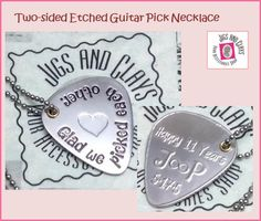 Funny French Bulldog Smile Custom Guitar Pick Pendant Necklace Keychain
