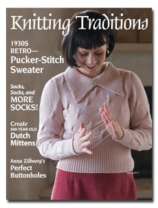 historical knitting patterns with inspiring and informative companion stories.