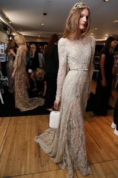 Ellie Saab couture Fall 15. The perfect Saab embellished gown
