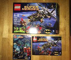 Lego DC Comics Super Heroes Batman 76011 Box Only w Manual   eBay